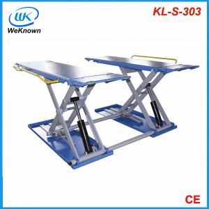 China hydraulic scissor lift kl-s-303, car lifts on sale