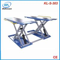 Quality hydraulic scissor lift kl-s-303, car lifts for sale
