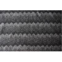 Herringbone Gradient Knitting Jacquard Upholstery Fabric For Mens Apparels Manufactures