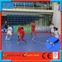 Flat Interlocking Sports Flooring For Futsal Court , Resurfacing Floor Manufactures