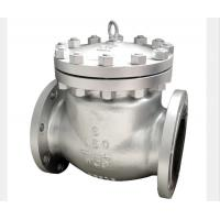 BW Flanged End Swing Check Valve Stellited Threaded Seat WCB CF3M CF8M Alloy 20 Manufactures