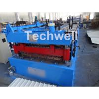 Welded Wall Plate Forming Structure Roof Roll Forming Machine 0-15m / Min Forming Speed Manufactures