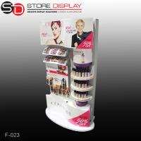 Quality Custom Eye-catching Plastic Floor Displays for cosmetic for sale