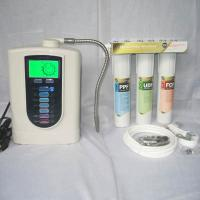 Three Stage Filter Natural Alkaline Water Filter Separates Water Into Alkaline And Acid Water Can For Drinking / Cooking Manufactures