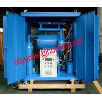 Single-stage Vacuum Oil Purifier Machine for low voltage transformers.Insulation Oil Filtration Plant,factory sale Manufactures