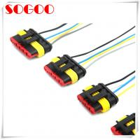 China Waterproof Auto Wiring Harness , Customized Length Terminal Wiring Harness on sale