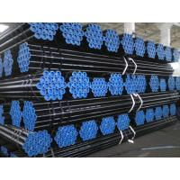 Black Varnished Round API 5L Line Pipe API X42 X46 X52 X56 For Gas / Oil pipeline Transport Manufactures