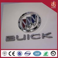 China Famous brands luxury high quality vacuum moulding thin light custom wholesale car logo on sale