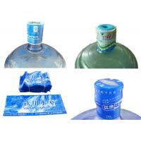 5 Gallon Water Bottle Neck Seal Shrink Sleeve With Custom Printing Manufactures