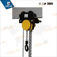 China Chain Pully Block with Hand Push Trolley From 0.5ton to 5ton on sale