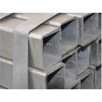 20# 45# 40# ERW Square Galvanized Steel Pipe / Steel Square Carbon  Pipe For Water Gas Manufactures