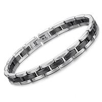 Buy cheap Fashion Jewelry New Product Stainless Steel Ceramic Bracelets from wholesalers