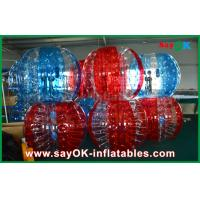 Transparent PVC / TPU Inflatable Soccer Bubble Human Ball for Adult / Kid Manufactures