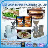 low price home use peanut butter making machine Manufactures