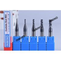 6mm Shank , 2*6*6D*50L*4F , AlTiN Coating Square carbide cutting bit 4 Flute , Milling tools , Fixed Shank Manufactures