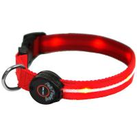 Yellow LED illuminated Pet Lead Manufactures