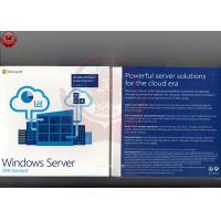 Quality Windows Server 2016 Standard Oem  Retail DVD COA Sticker Software Licensing for sale