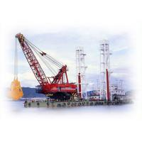 Clamshell Grab Dredger Floating Crane For Ocean And River Construction Manufactures