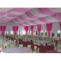300 People Luxury Wedding Tents Rentals Aluminium Frame Marquee With Transparent PVC Windows Manufactures