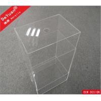 Custom Size Clear Storage Box Perspex Shoe Box Logo Available OEM Manufactures