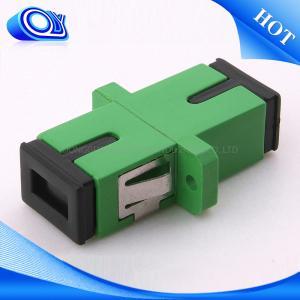 Plastic FTTx Coupler Standard SC / APC UPC Compact Design Fiber Optical Adapter Manufactures