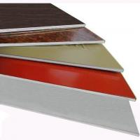 Fireproof Aluminum Composite Panels 1mm -4mm fire-resistance core Manufactures