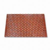 Wooden Area Rug, Customized Designs are Accepted, Available in Various Colors Manufactures