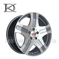 Benz Mercedes Replica Reproduction Wheels Alloy Rims 5 Holes Black Machine / Sliver lip Manufactures
