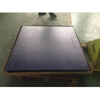Heavy Duty Industrial Floor Weighing Scales Low Profile 80mm Platform Height Manufactures