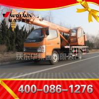 small wheel crane 6 ton truck mounted crane with telescopic GNQY-3200 Manufactures