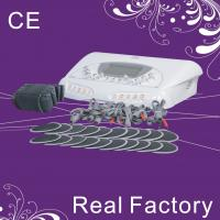 China 0-40MA Portable Electric Muscle Stimulation Machine 10 Pairs Of Pads For Body Shaping on sale