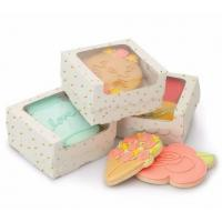 Dessert Cupcake Packaging Boxes / Paper Food Gift Boxes With Custom Design Manufactures
