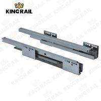 China Double Wall Soft Close 45mm Drawer Slide KRS02 on sale