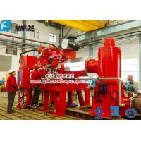 Foam Concentrate Used Multistage Vertical Turbine Fire Pump Sets With Firefighting Diesel Engine Driven With 750 Usgpm Manufactures