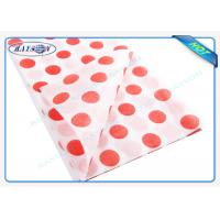 China Different Gram PP Spunbond Non Woven Products Non Woven Table Cover For Resturant on sale