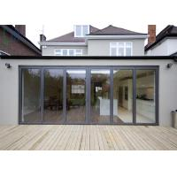 America Market Veranda Aluminium Folding Door With Double Low - E Glass Manufactures