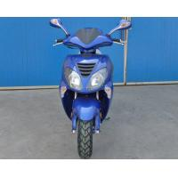 Blue Mini Scooter Motorcycle With 150cc CVT Forced Air Cooled Engine Manufactures