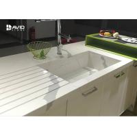 Calacatta Pattern White Quartz Countertops That Look Like Marble For Kitchen Manufactures