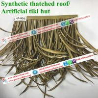 China african synthetic thatch, artificial roof materials, artificial thatch rolls AT-004 on sale