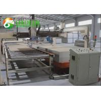 China Decorative Insulation Wall Board / Gypsum Ceiling Tile Making Machine on sale