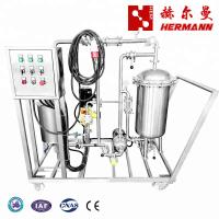 China China Beer Brewing Equipment Beer Filtration Machine Stainless Steel 304 Coarse Membrane Filter on sale