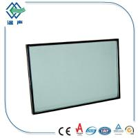 High wind pressure insulated low e glass , 6mm+12A+6mm dual pane glass Manufactures