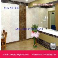 Fireproof and waterproof kitchen wall paneling with marble look  2440*1220*6/8/9mm Manufactures