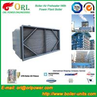 Steam Coil CFB Boiler APH , Tubular Type Air Preheater Natural Circulation Manufactures