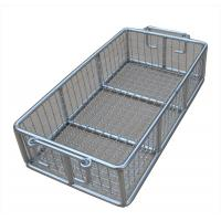 Stainless Steel Metal Wire Basket for fruit washing / frying /steaming Manufactures