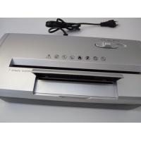 Silver Mini Office Paper Shredder Overheat Protection Paper Shredding Machine Manufactures