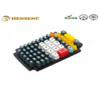 Quality OEM Rubber Plastic Molding Keypad , Flexible Rubber Molding Game Button for sale