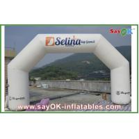 0.4mm PVC Inflatable Arch , Inflatable Finish Line Arch for Opening Decoration Manufactures