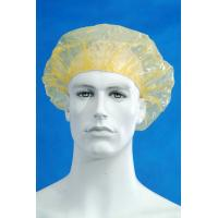 China Customized Disposable Surgical Caps / Shower Cap Pe Material Transparent Color on sale