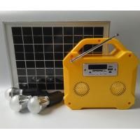 Camping Small Solar Panel Light Kit Off Grid Solar Power Systems LED Screen Manufactures